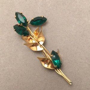 Vintage Floral Sprig Pin